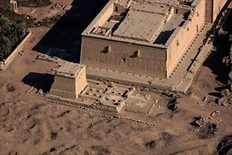 Dendera, temple d'Hathor et temple d'Isis