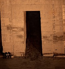 Temple de Ramsès III à Medinet Habou