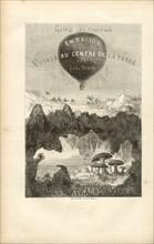 Jules Verne  Cinq semaines en Ballon Voyage au centre de la Terre