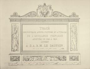 Traité d'artillerie française au 19e siècle