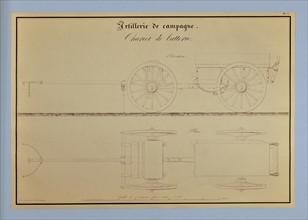 Traité d'artillerie : Chariot de batterie