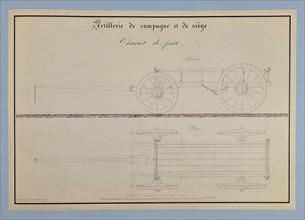 Traité d'artillerie : Chariot de parc