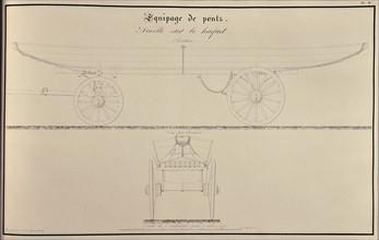 Traité d'artillerie : Nacelle sur le haquet