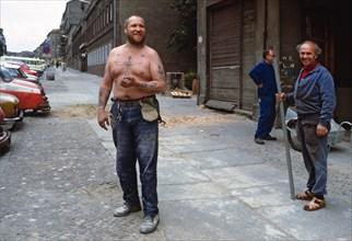 Rues de Berlin-Est, 1982