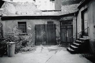 Quartier de Prenzlauer Berg dans Berlin-Est, 1982