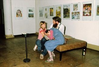 La Haus der Jungen Talente à Berlin-Est, 1982