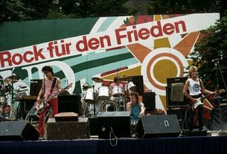 Festival de musique dans Berlin-Est, 1982