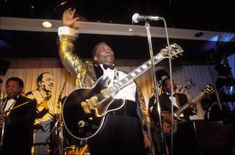 18/05/1992. BB KING EN CONCERT A PARIS