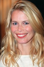 06/10/99. PARIS CLAUDIA SCHIFFER MEMBER OF THE US COMMITTE FOR UNICEF'S