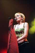 CONCERT OF FRENCH SINGER PATRICIA KAAS