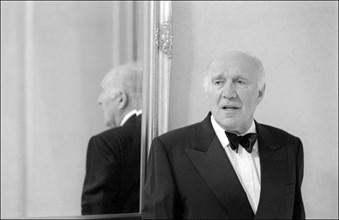 05/14/2001. 54th Cannes film festival: Michel Piccoli.