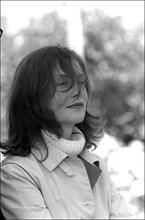 "05/14/2001. 54th Cannes Festival: Press conference of ""La pianiste"" by Michael Haneke."