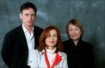 "05/14/2001. 54th Cannes Festival: Exclusive Studio of ""La pianiste"" by Michael Haneke."