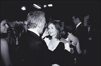 05/20/2001. 54th Cannes Film Festival : Exclusive Backstage closing ceremony