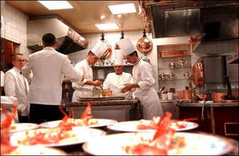 11/00/2002. World renowned French chef Paul Bocuse