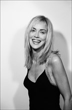 "10/04/2005. ""A few days in the life of Sharon Stone"", a book by photographer Emanuele Scorcelletti."