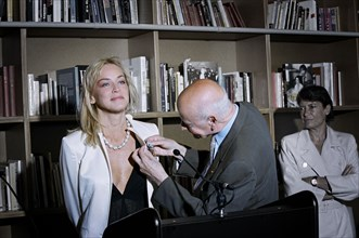 05/20/2005. 58th Cannes film festival - Behind the Scene.