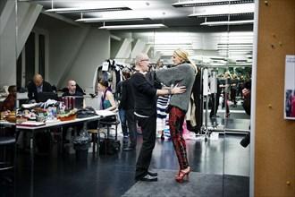 Jean Paul Gaultier et Karolina Kurkova