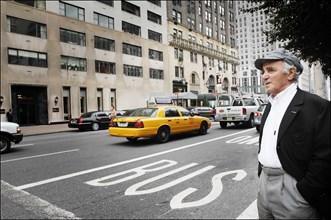 Charles Aznavour, New York, le 19 septembre 2006