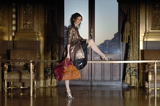 01/25/2007. Close up french dancer Agnes Letestu.