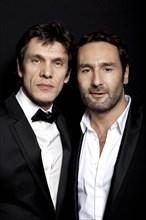 Gilles Lellouche and Marc Lavoine, 2010