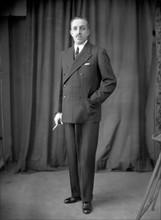 Le roi Alphonse XIII d'Espagne