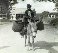 Child's labour in Jamaica, 1910