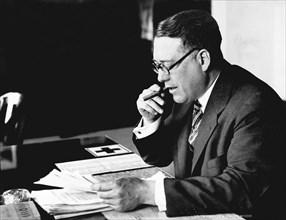 Portrait Of Elmer Irey