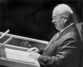 Khrushchev At United Nations