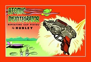 Atomic Disintegrator Repeating Cap Pistol 1950