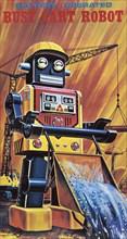 Busy Cart Robot 1950