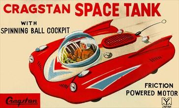 Cragstan Space Tank 1950