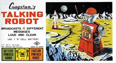 Cragstan Talking Robot 1950