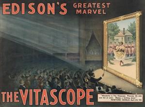 Edison's greatest marvel--The Vitascope 1896