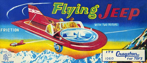 Flying Jeep 1950