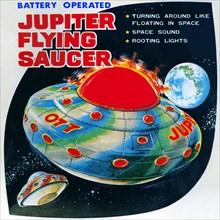 Jupiter Flying Saucer 1950