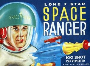 Lone Star Space Ranger 100 Shot Cap Repeater 1950
