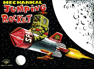 Mechanical Jumping Rocket 1950