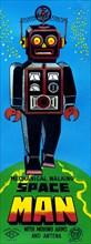 Mechanical Walking Space Man 1950