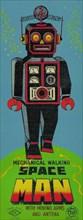 Mechanical Walking Spaceman 1950