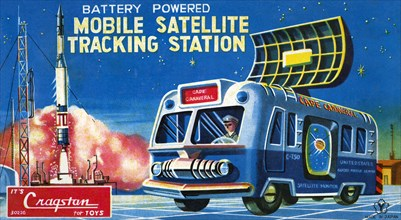 Mobile Satellite Tracking Station 1950