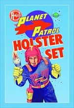Plantet Patrol Holster Set 1950
