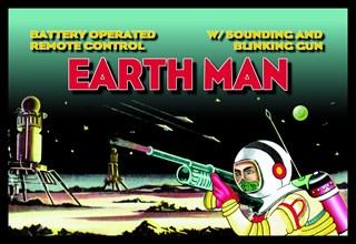 Remote Control Earth Man 1950