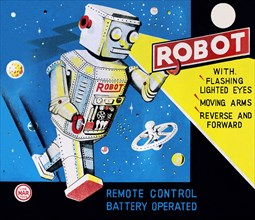 Robot with Flashing Lighted Eyes 1950