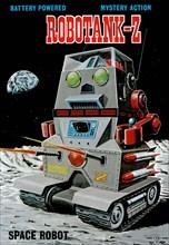 Robotank-Z Space Robot 1950