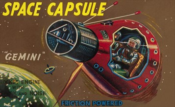 Space Capsule Gemini 1950