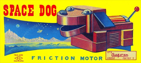 Space Dog 1950