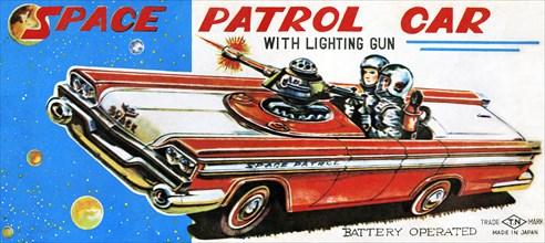 Space Patrol Car 1950