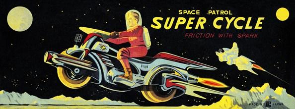 Space Patrol Super Cycle 1950