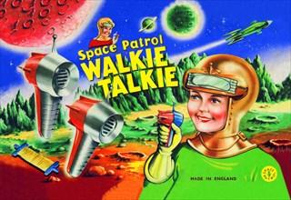 Space Patrol Walkie Talkie 1950